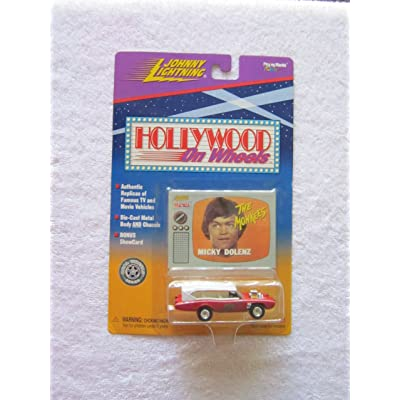 THE Monkees Monkeemobile, Johnny Lightning, Hollywood on Wheels Monkee Mobile: Toys & Games