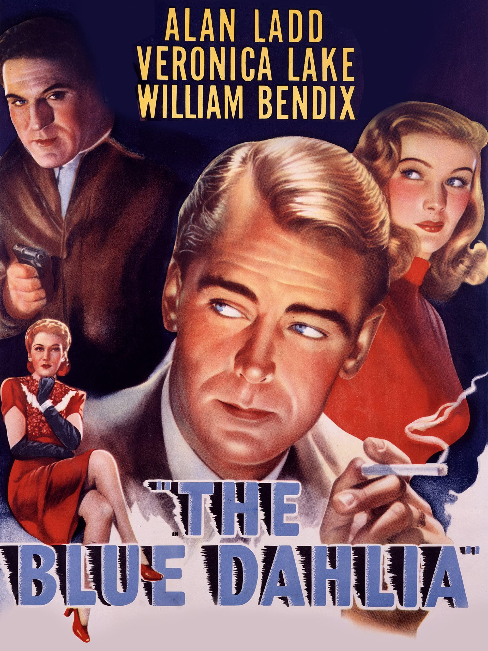 Veronica Lake Hollywood Film The Blue Dahlia T-Shirt George Marshall Alan Ladd