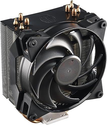 Cooler Master MasterAir Pro 4 Ventilateurs de processeur '4 Heatpipes, 1x ventilateur 120mm PWM, 4 Pin Connector' MAY T4PN 220PK R1