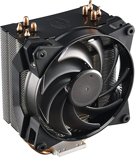CoolerMaster Air Pro 4 - Ventilador de CPU, Color Negro: Amazon.es ...