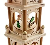 BRUBAKER Christmas Decoration Pyramid 18 Inches