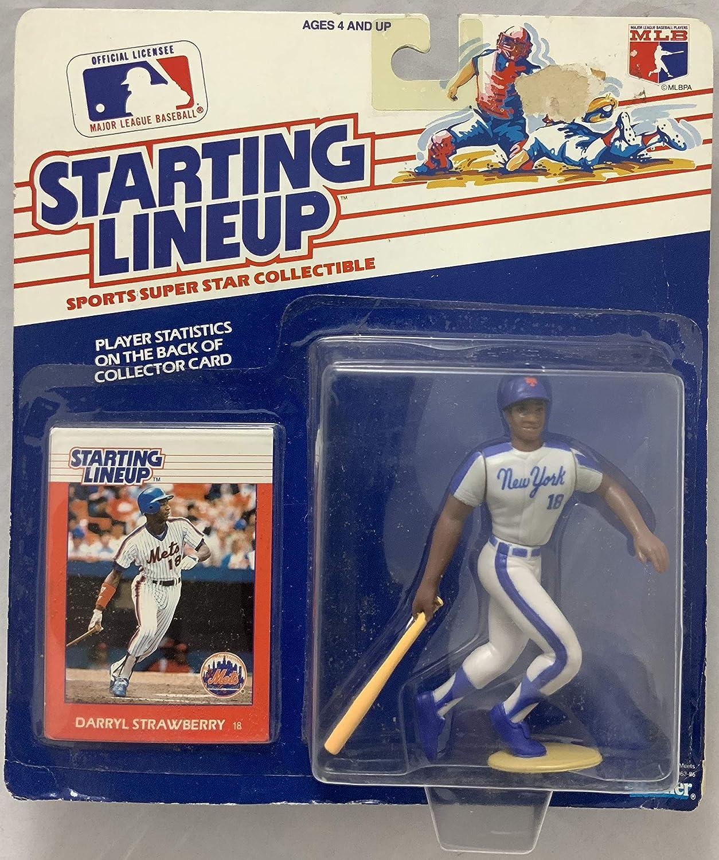 1988 KENNER STARTING LINEUP MLB DARRYL STRAWBERRY NEW YORK METS MOC