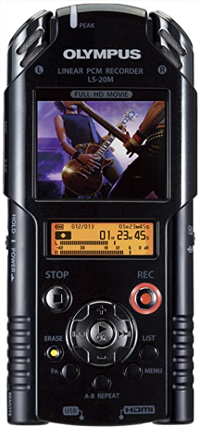 OLYMPUS grabadora PCM lineal IC LS-20M negro con 2 GB de ...