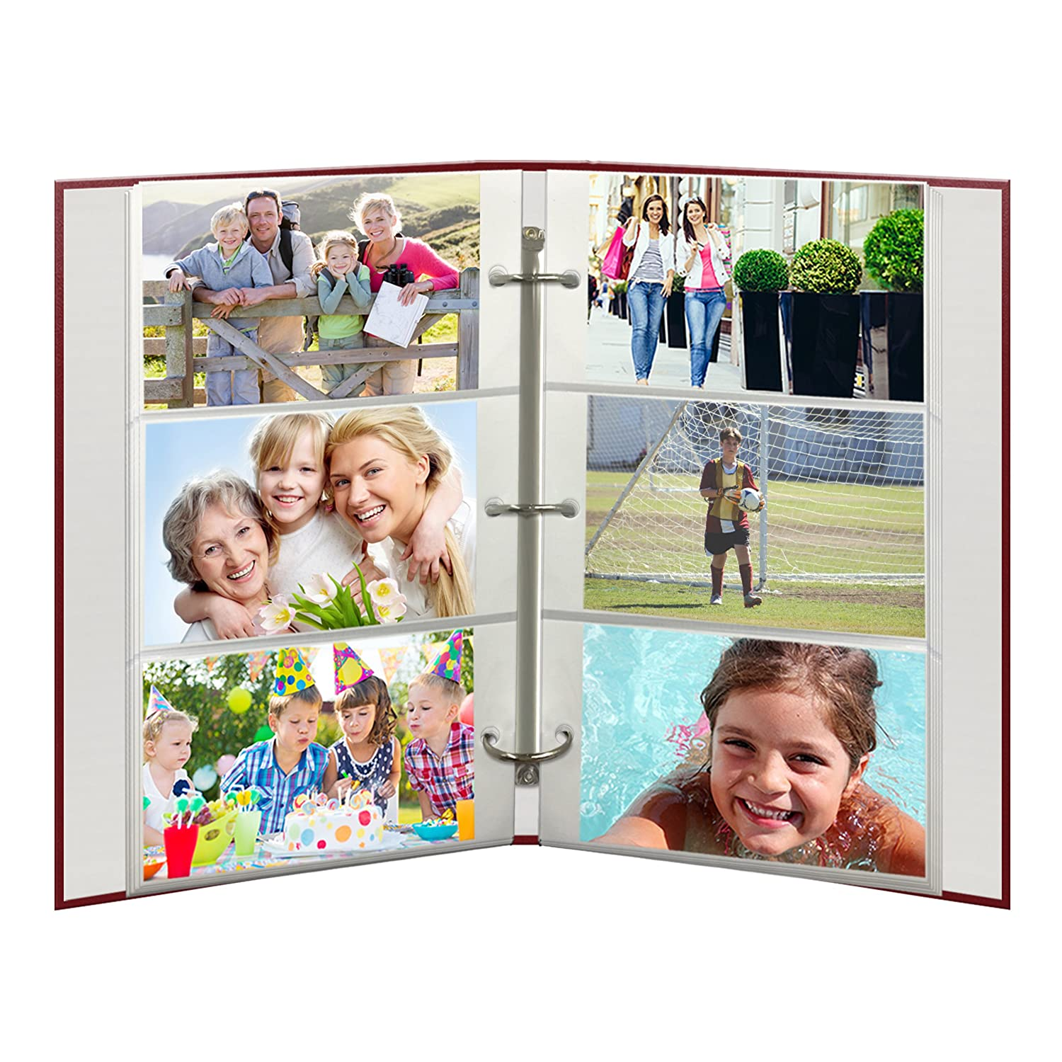 B000XUNEPA Refill Pages for STC-46, STC-46D, STC-204 and STC-504 Photo Albums 30 Pockets Hold 4x6 Photos 91Xqfrk4RhL