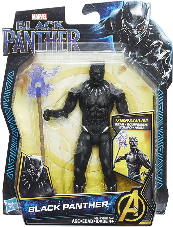 Black Panther Toy Action Pack Figure Kid Toy Chadwick Boseman Doll Gift Box