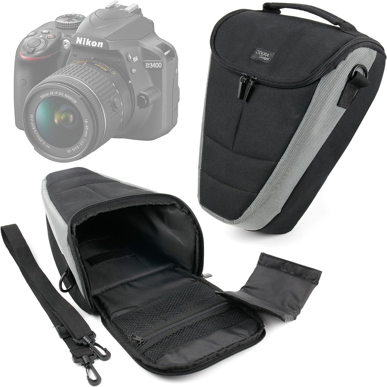 DURAGADGET Funda para Cámara Nikon D3400: Amazon.es: Electrónica