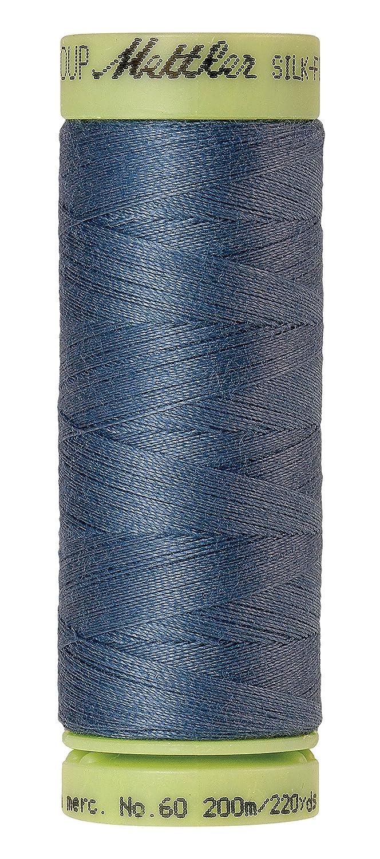 Mettler Silk-Finish Solid Cotton Thread, 220 yd/200m, Laguna by Mettler   B014AFP7K8