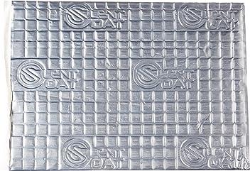 Silent Coat 8 Sheet (375x265mm) Door Pack Car Sound Deadening/Proofing