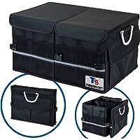 TurboBoost Car Trunk Organiser - Car Storage Bag, Durable Storage SUV Cargo Organiser Adjustable, Tidy Organization…