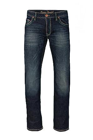 arriving run shoes classic Camp David Herren Jeans Straight Leg CO:NO:C622 Dark Vintage Comfort FIT