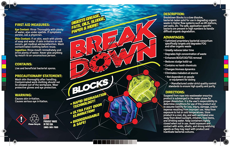 EcoClean Solutions Bio bloque desglose digestant enzima ...