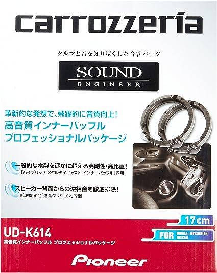 カロッツェリア 高音質インナーバッフル(UD-K614)