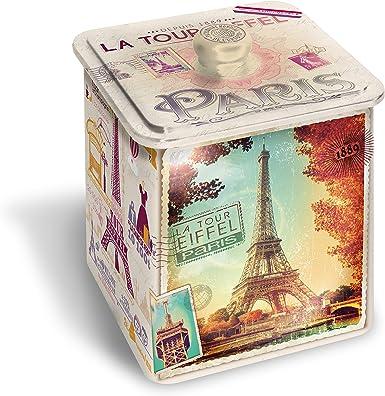 Galletas en metal. Caja de París vintage, 350 g,: Amazon.es: Alimentación y bebidas