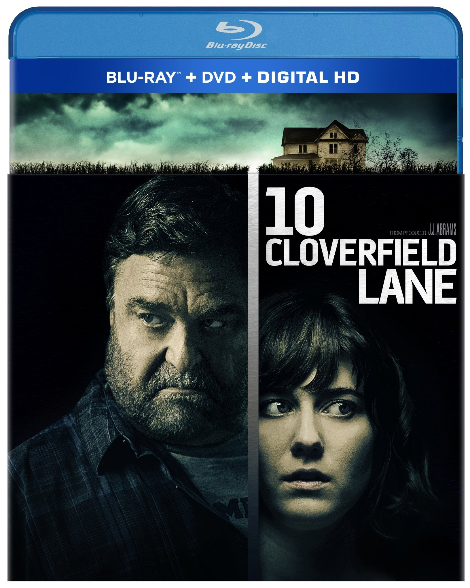 Blu-ray : 10 Cloverfield Lane (With DVD, Digitally Mastered in HD, 2 Pack, 2 Disc)