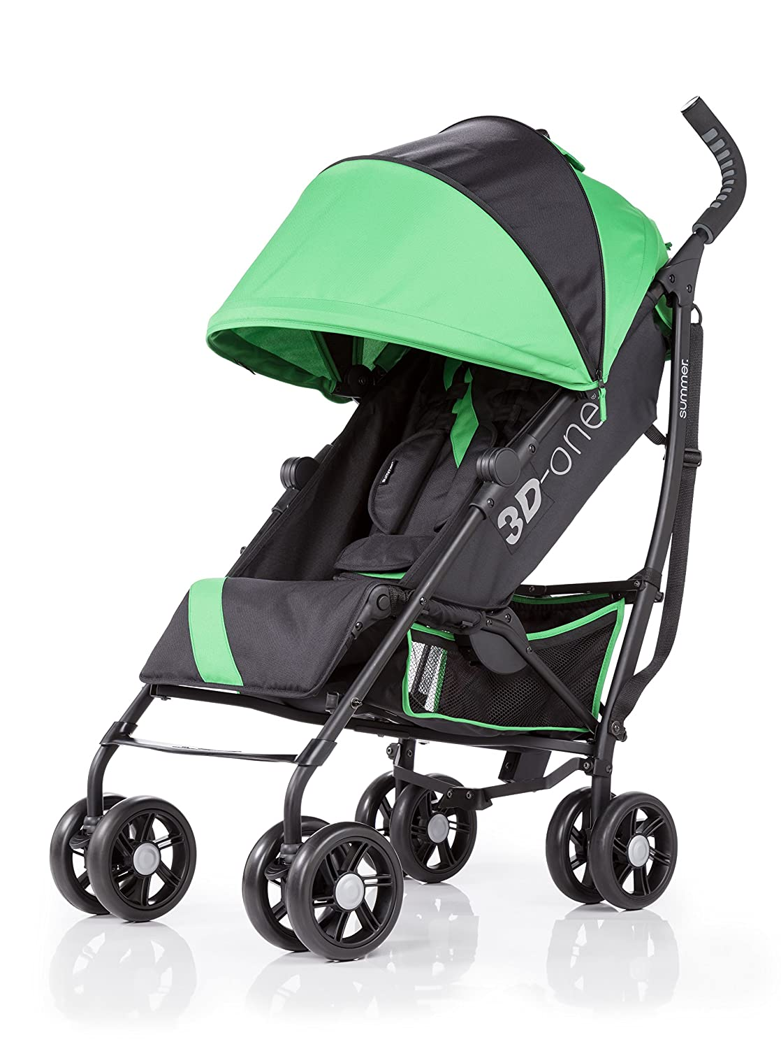 Summer Infant 3D One Convenience Stroller, Brilliant Green 21803