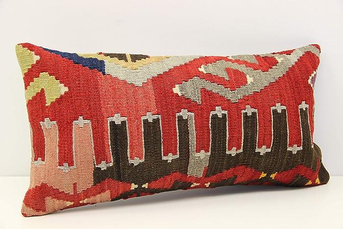 Outstanding Amazon Com Throw Kilim Pillow Cover 10X20 Inch 25X50 Cm Inzonedesignstudio Interior Chair Design Inzonedesignstudiocom