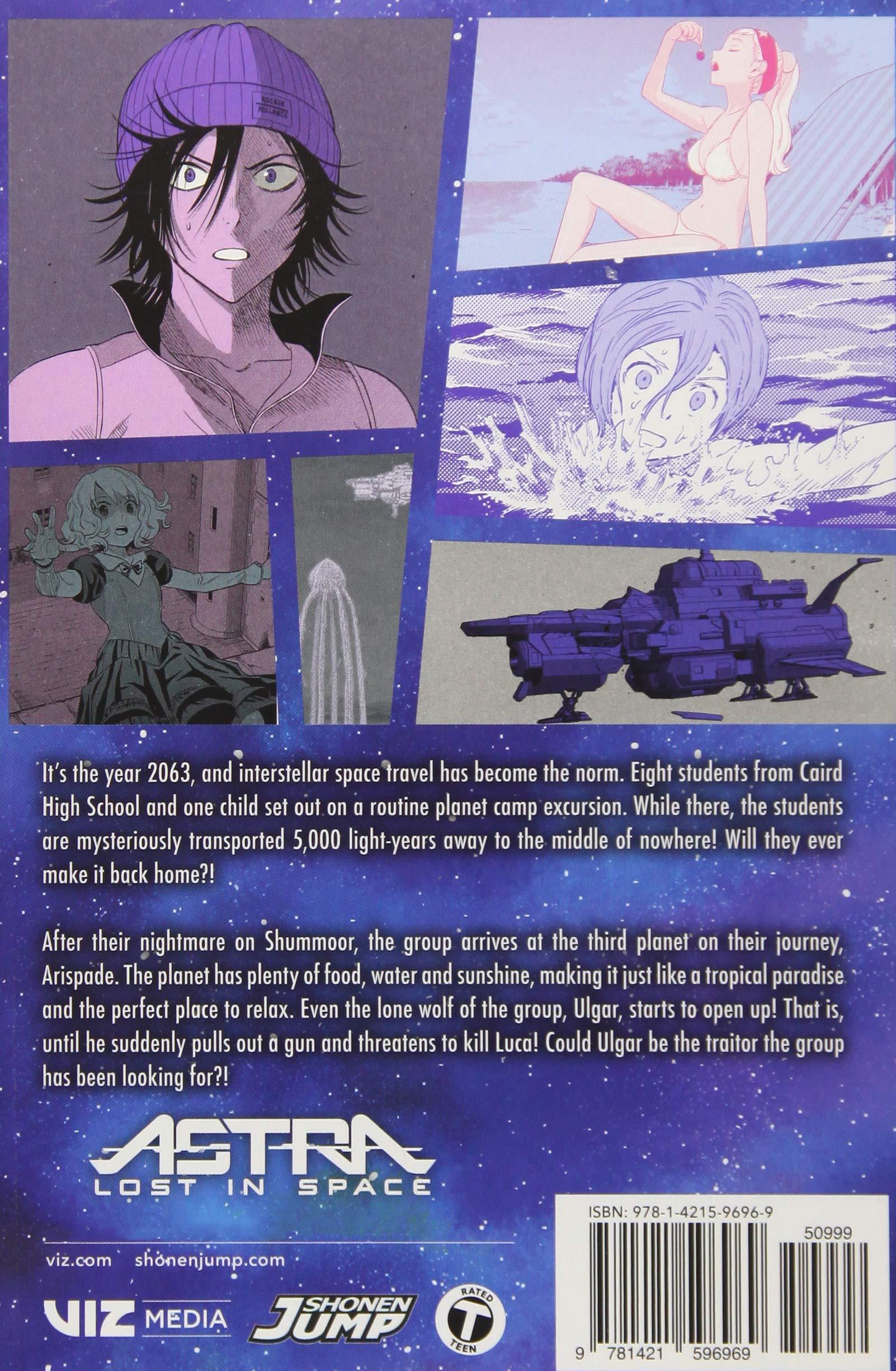 Astra Lost in Space, Vol  3: Amazon co uk: Kenta Shinohara