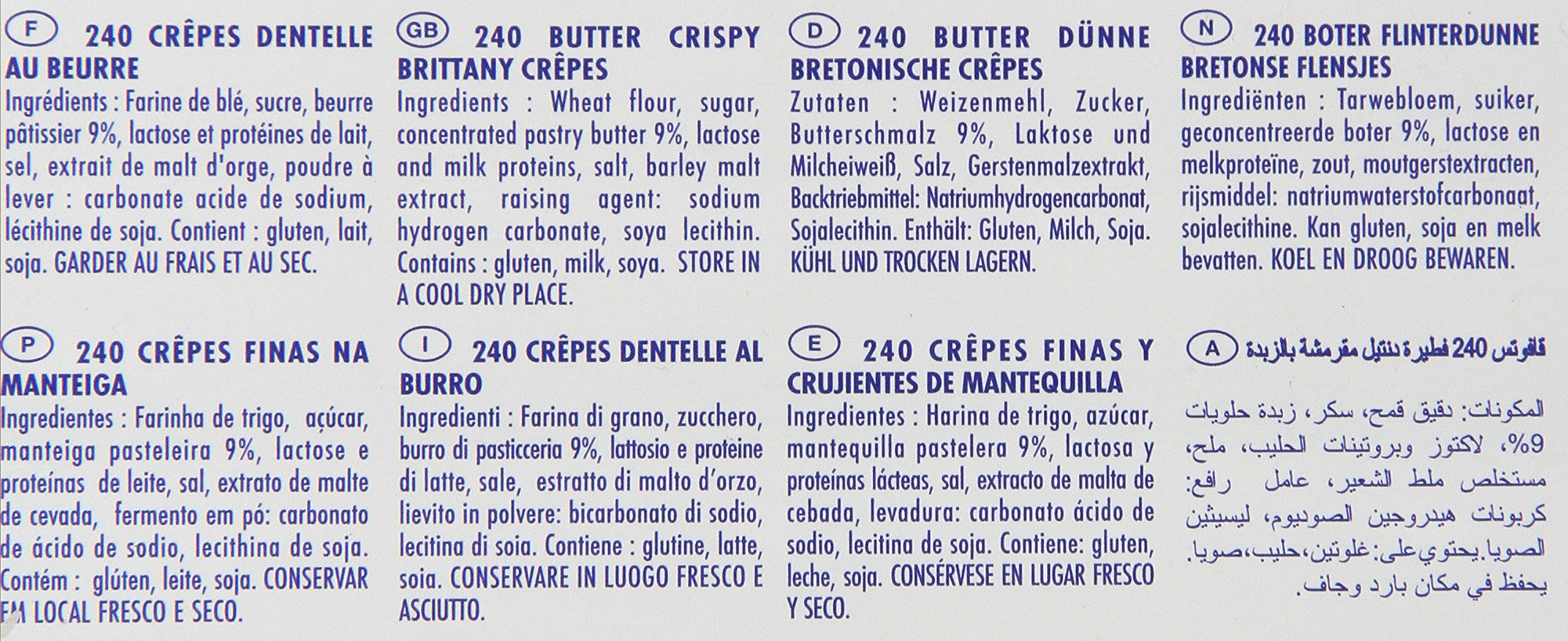 Gavottes - Crispy Lace Crepes from France, 240ct, 44oz by Loc Maria (Image #2)