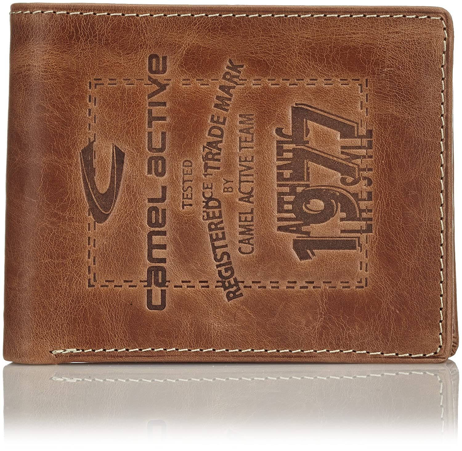 074bce8435f camel active Adventure Team II Wallet - 12.5X2X9.5
