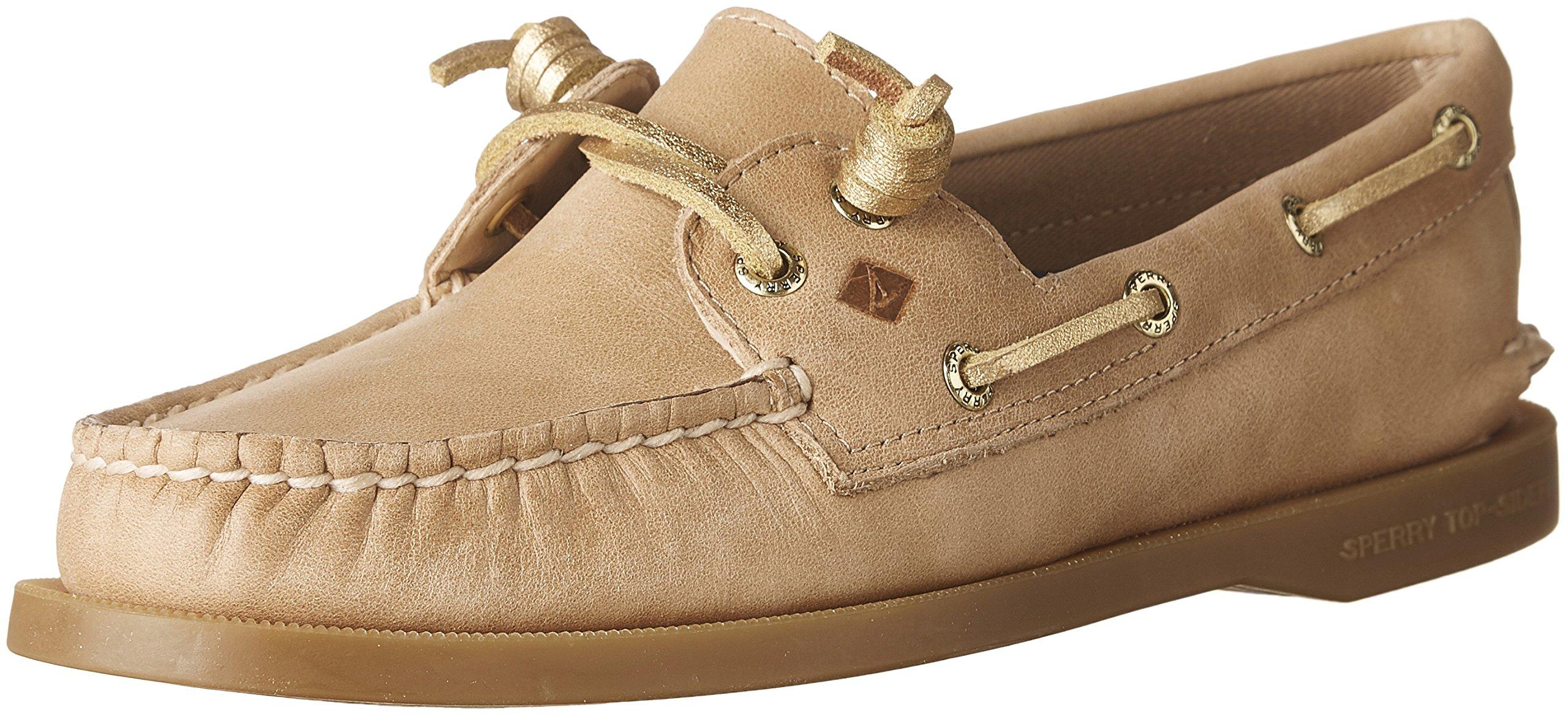 Women's Sperry, Authentic Original Vida Boat Shoes LINEN 7.5 M