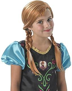 Disney Princesas Peluca Infantil, Color Beige, única (RubieS 36172)