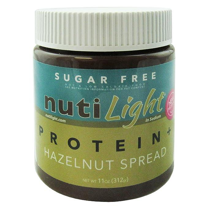 Nutilight Proteína sin azúcar Proteína + avellana 11 oz. (312gr)