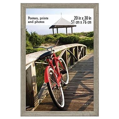 MCS 68866 Museum Poster Frame Barnwood 20x30 Inch, 1 Frame
