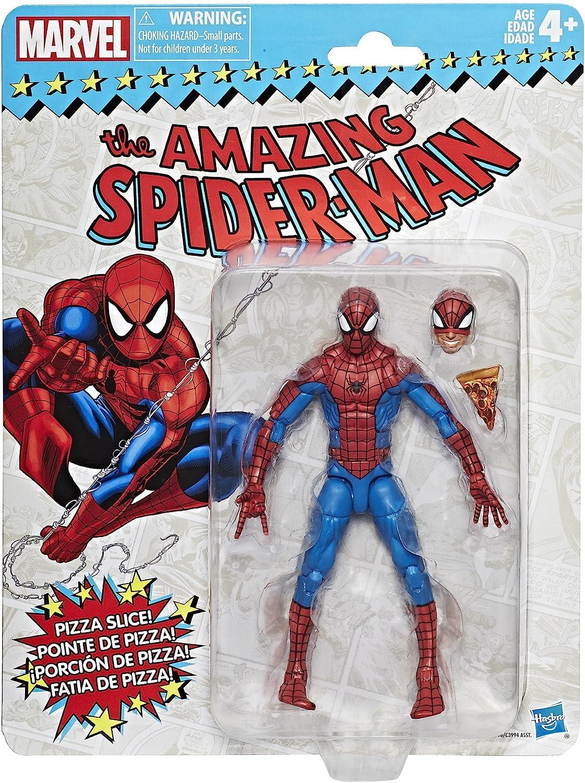 "Marvel Legends 6/"" Inch Vintage Retro Classic Pizza Spider-Man Loose Complete"