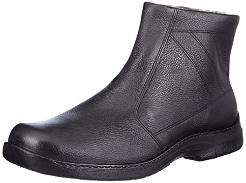 Jomos - Zapatos de cordones de Piel para hombre negro negro, color negro, talla 49