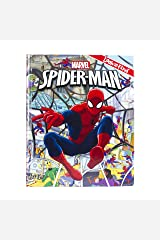 Marvel Spider-Man Look and Find Activity Book - PI Kids Hardcover