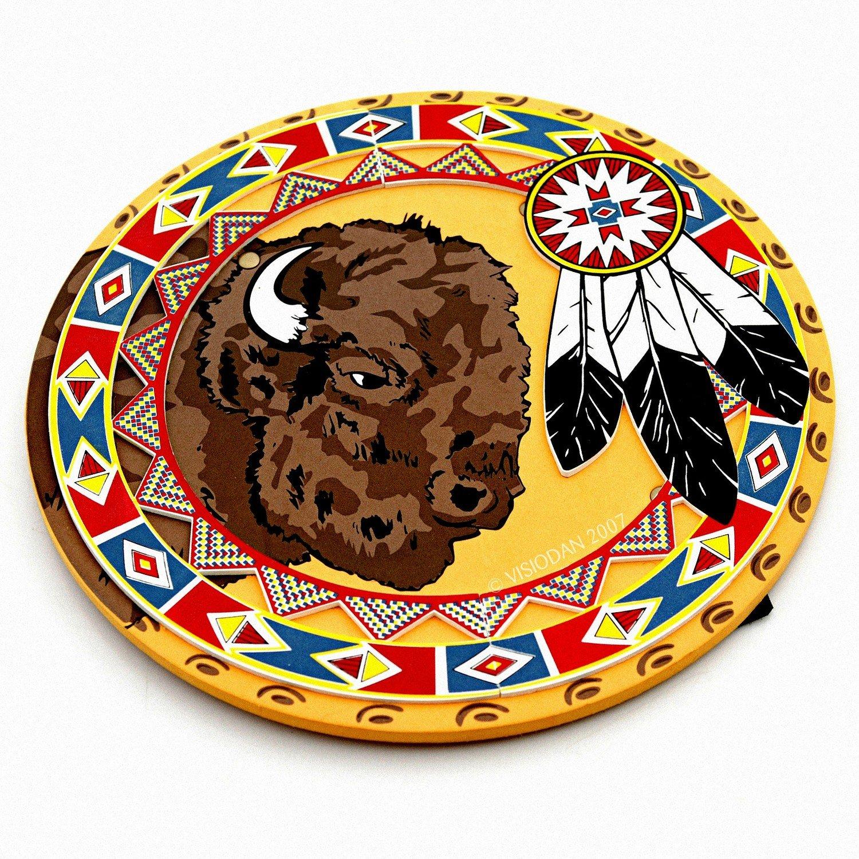 Liontouch BestSaller 33,5x 33,5cm Indianer Schild (Mehrfarbig)