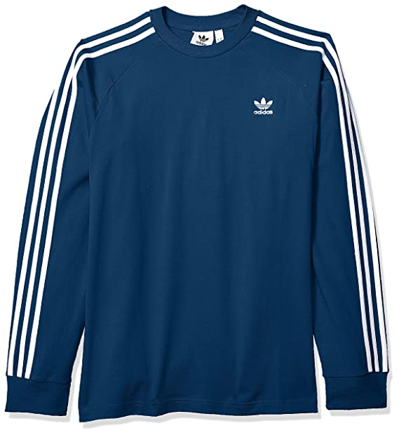 Long Shirt Men's Stripes Adidas Sleeve Originals T 3 m0wPnyvON8