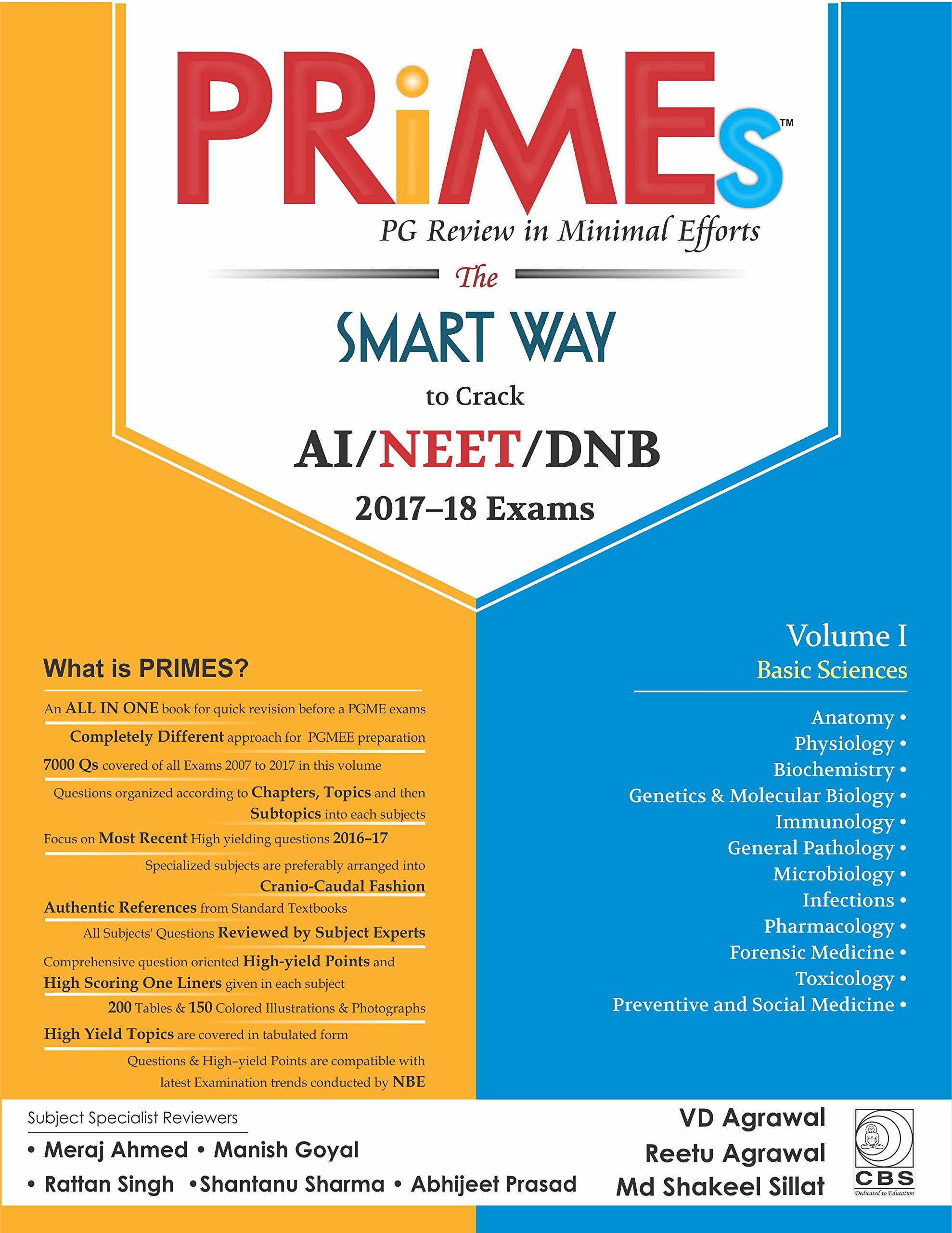 Amazon in: Buy PRiMEs - PG Review in Minimal Efforts (Volume