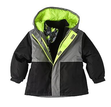 9a7d752fe951 Amazon.com  Healthtex Baby Infant Boy 3 In 1 Ski Snowboard Jacket ...