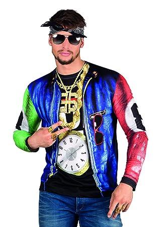 Rapero Gángster Disfraces fotorrealista T-Shirt - Mens extra de gran tamaño 3883fff16a9