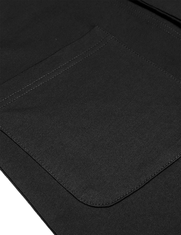 JINIDU Herren Casual Slim Fit Blazer 3 Kn/öpfe Anzug Sport Mantel Leichte Jacke