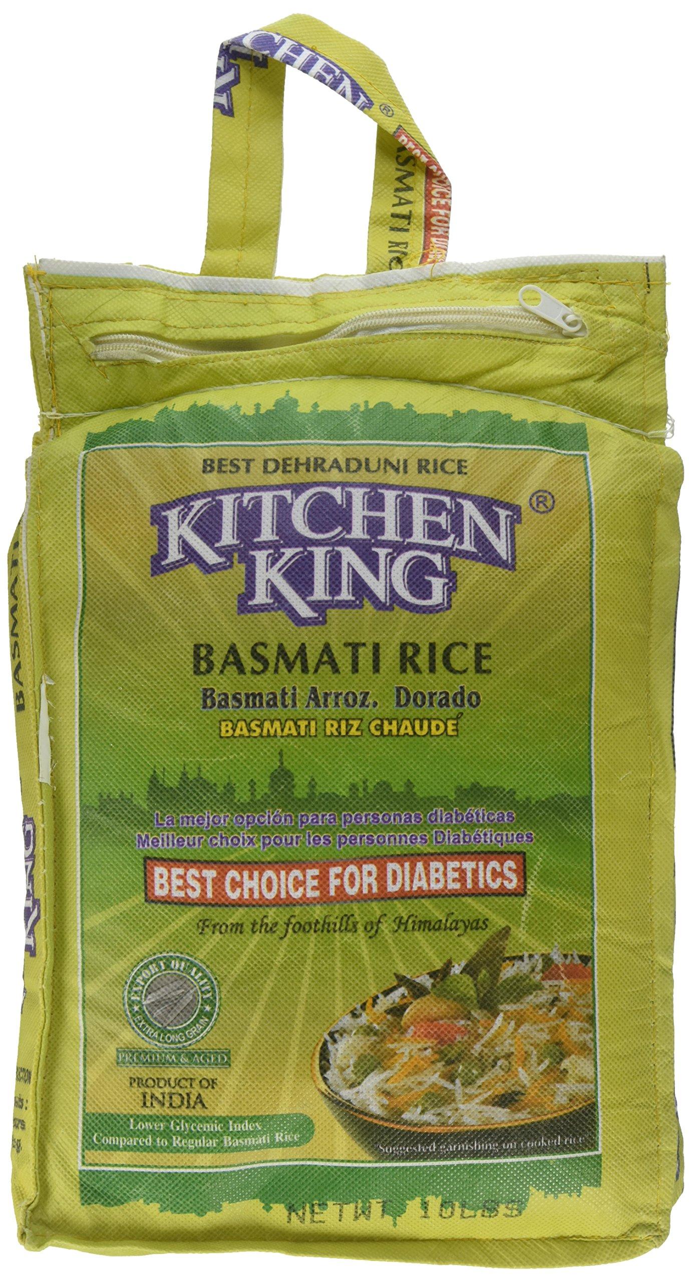 Kitchen King, Basmati Rice, 10 Pound(LB)