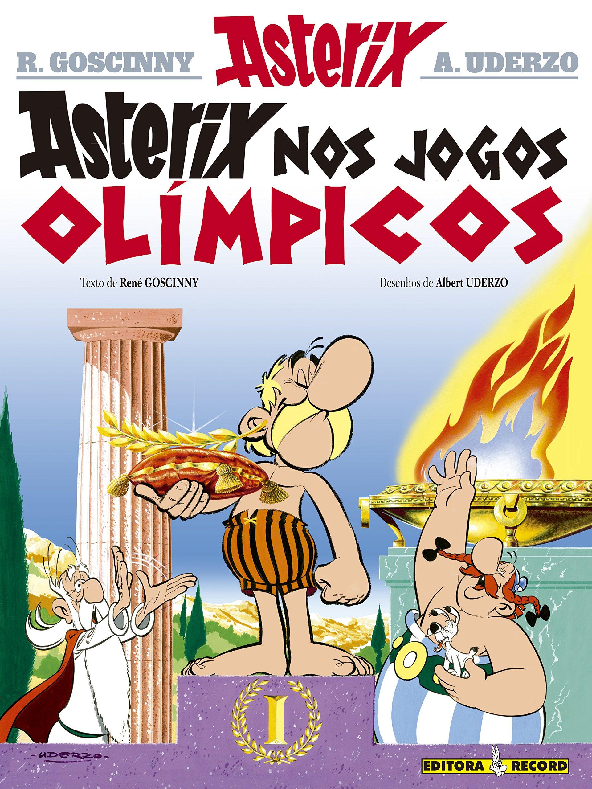 Asterix Nos Jogos Olimpicos Em Portugues Do Brasil Albert