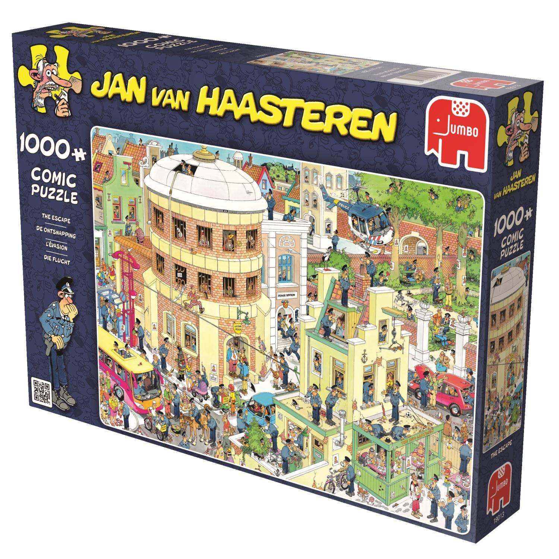Puzzle 1000 Teile Spiel Deutsch 2015 Die Flucht Jan van Haasteren