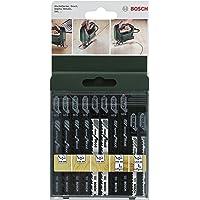 Bosch 2609256744 DIY sticksågsblad set 10 stycken T144D (2)/T244D (2)/T101B (2)/T101AO (2)/T144DP (2)