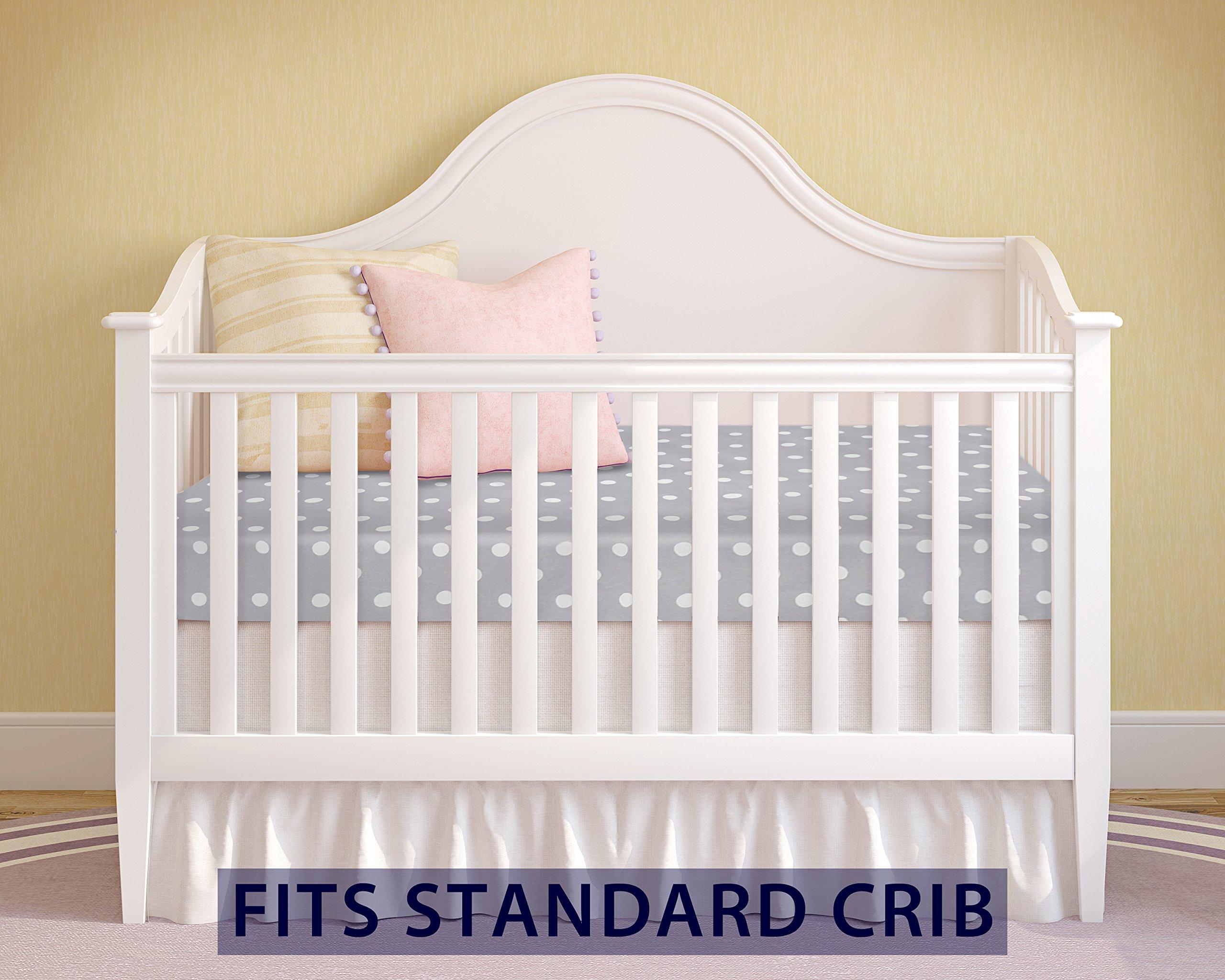 Milliard Crib Mattress and Toddler Bed Mattress | Hypoallergenic + Waterproof Encasement | 27.5''x52''x5'' by Milliard (Image #5)