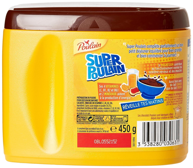 Poulain Super Poulain Francesa Hot Chocolate Cocoa Powder 4 ...