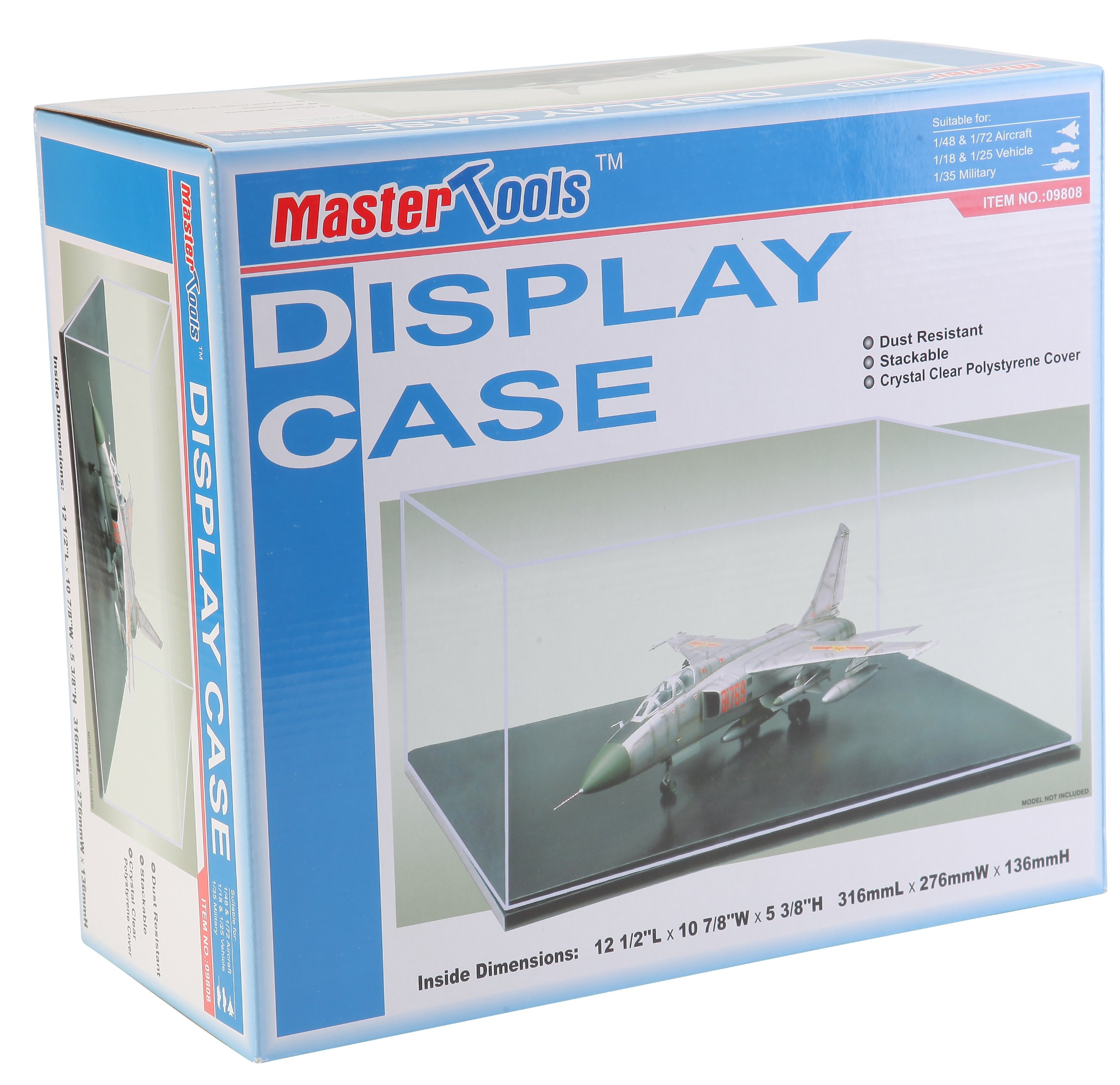 Trumpeter Showcase for 1/18 Autos, 1/48 Planes and 1/35 Black Base Tanks