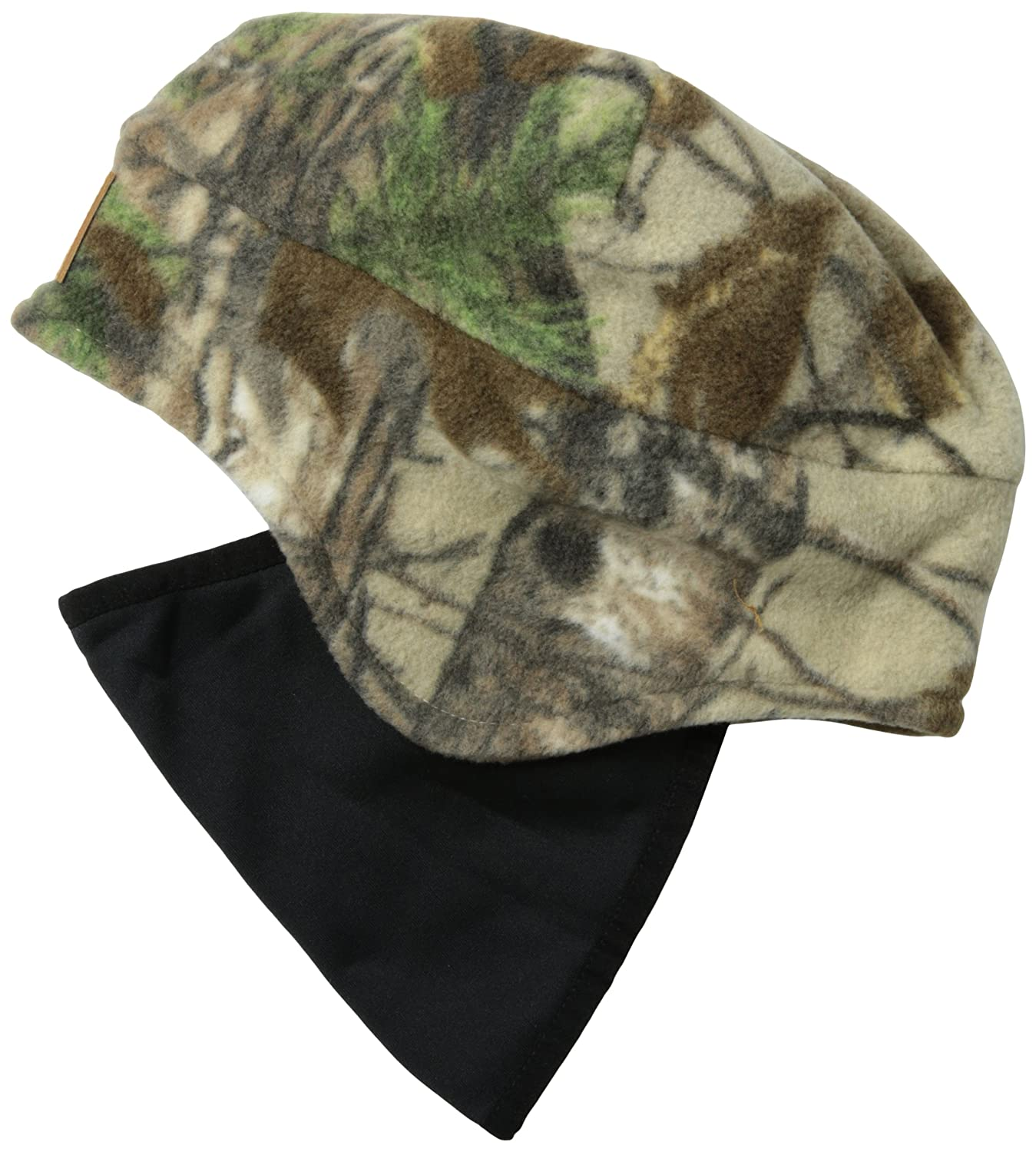 55b9a4b417f4c Carhartt Men s Workcamo Fleece 2 In 1 Headwear at Amazon Men s Clothing  store  Cold Weather Hats