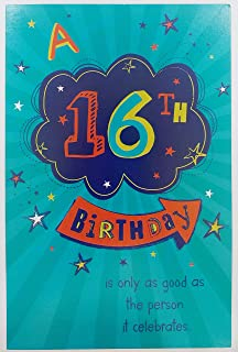 A 16th Birthday Greeting Card