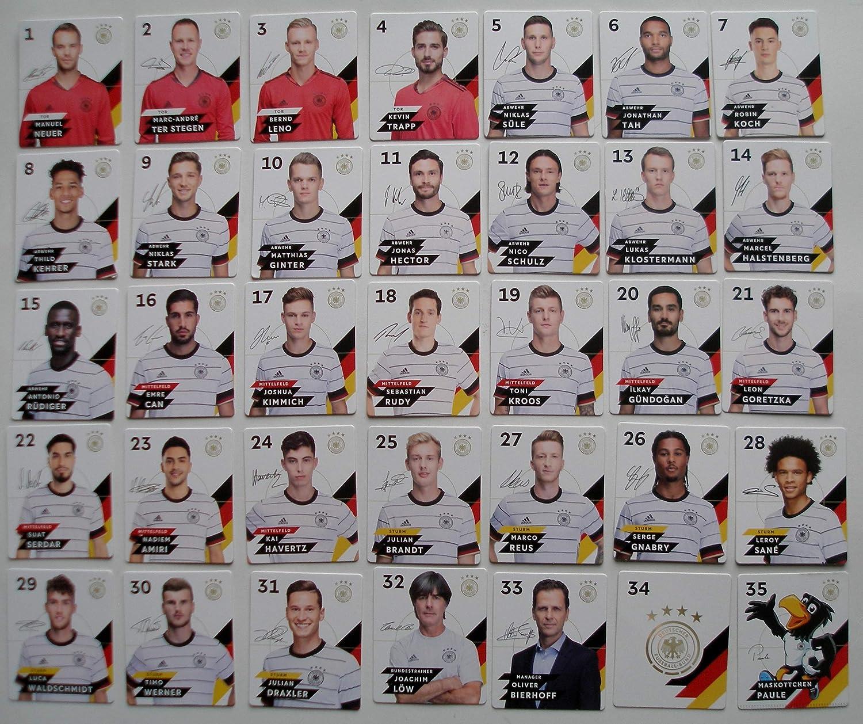 WM 2018 * Fußball Popz Alle 12 Figuren Komplettsatz DFB Rewe