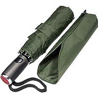 LifeTek Windproof Travel Umbrella Compact Automatic Open Close Small Folding Teflon Repellent Canopy Umbrellas fit Golf…