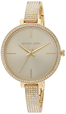 b2358833ec86 Michael Kors Women's Jaryn Watch Analog-Quartz Stainless-Steel Strap, Gold,  8