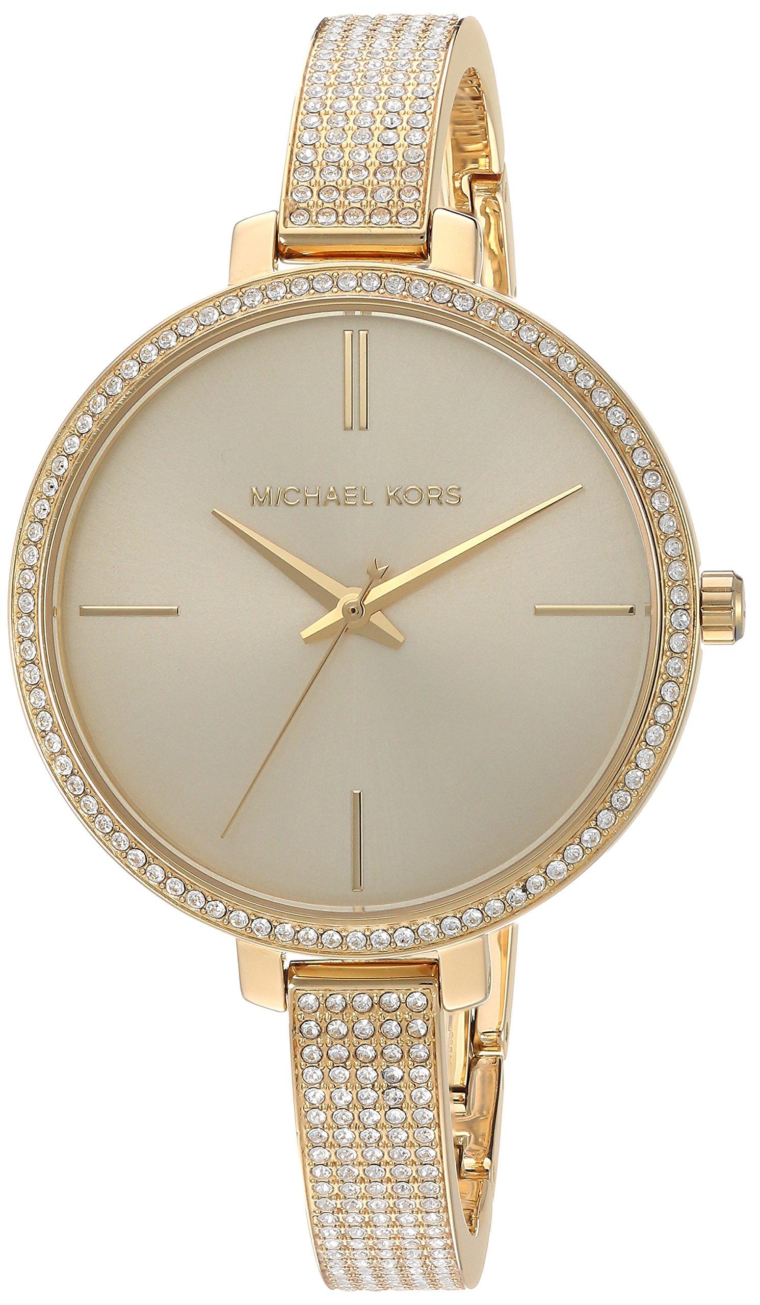 Michael Kors Women's 'Jaryn' Quartz Stainless Steel Casual Watch, Color:Gold-Toned (Model: MK3784)