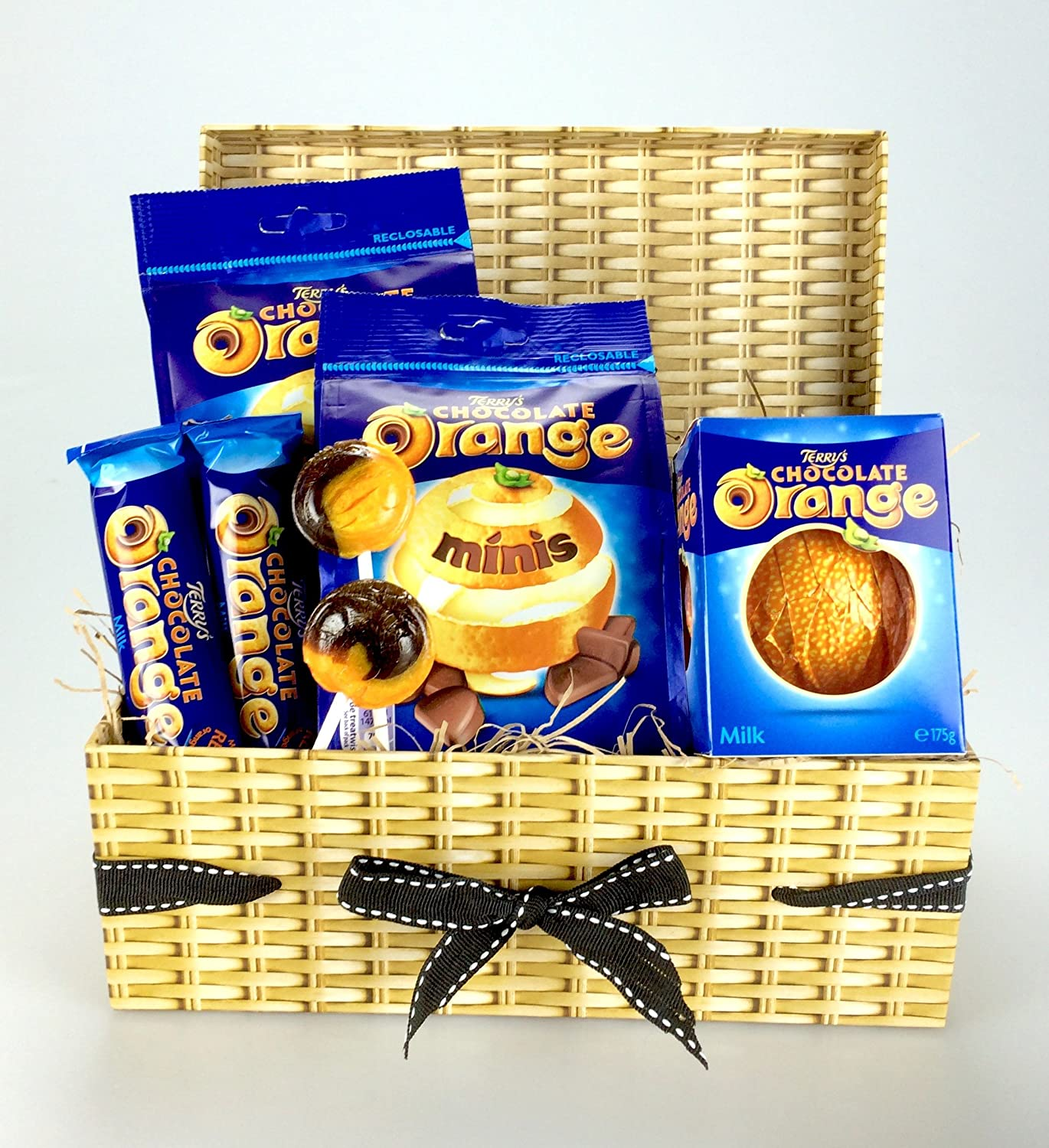 """Deluxe""""TERRY'S Chocolate Orange"""" Hamper Including Joseph Dobson Lollies Sharing Gift - Unique Gift - Birthday, Christmas, Thank You,Business Corporate Gifts ..."""